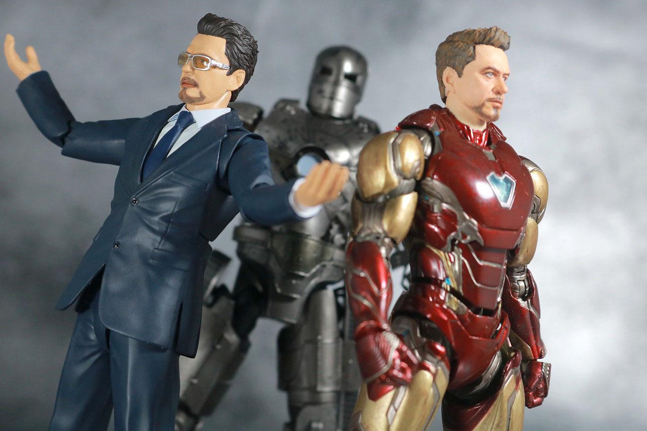 S.H.フィギュアーツ トニー・スターク Birth of Iron Man レビュー アクション アイアンマン マーク85