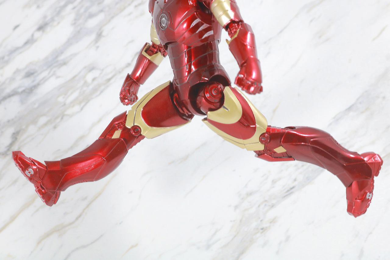 ZDtoys アイアンマン マーク3 レビュー 可動範囲