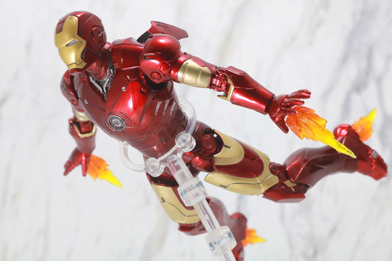 ZDtoys アイアンマン マーク3 レビュー アクション