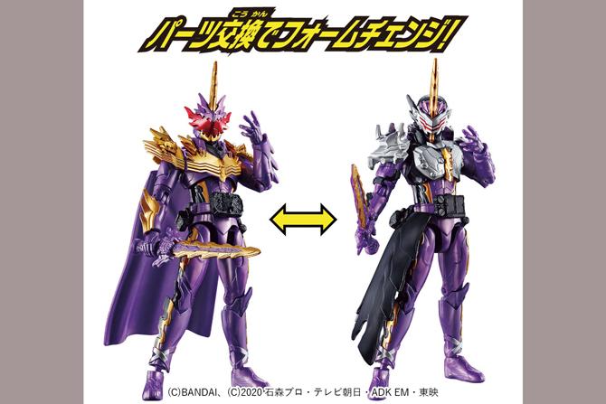 RKF新作!仮面ライダーカリバーがジャオウドラゴン&ジャアクドラゴン換装セットで2020年11月に発売!