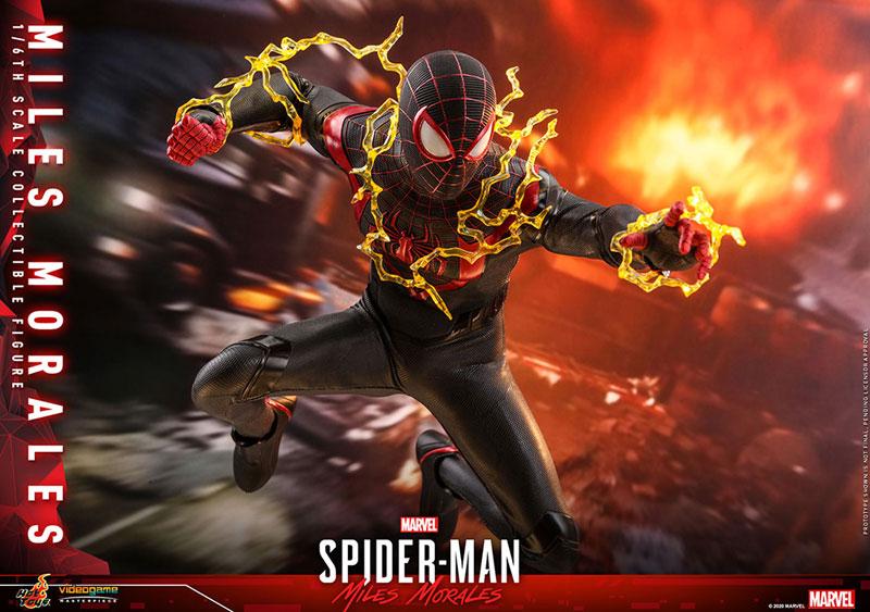 ホットトイズ ビデオゲーム・マスターピース マイルス・モラレス/スパイダーマン