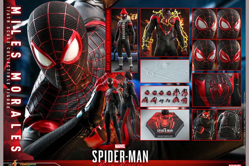 ホットトイズ新作!新作ゲームよりスパイダーマン(マイルス・モラレス)が2022年6月に発売決定!
