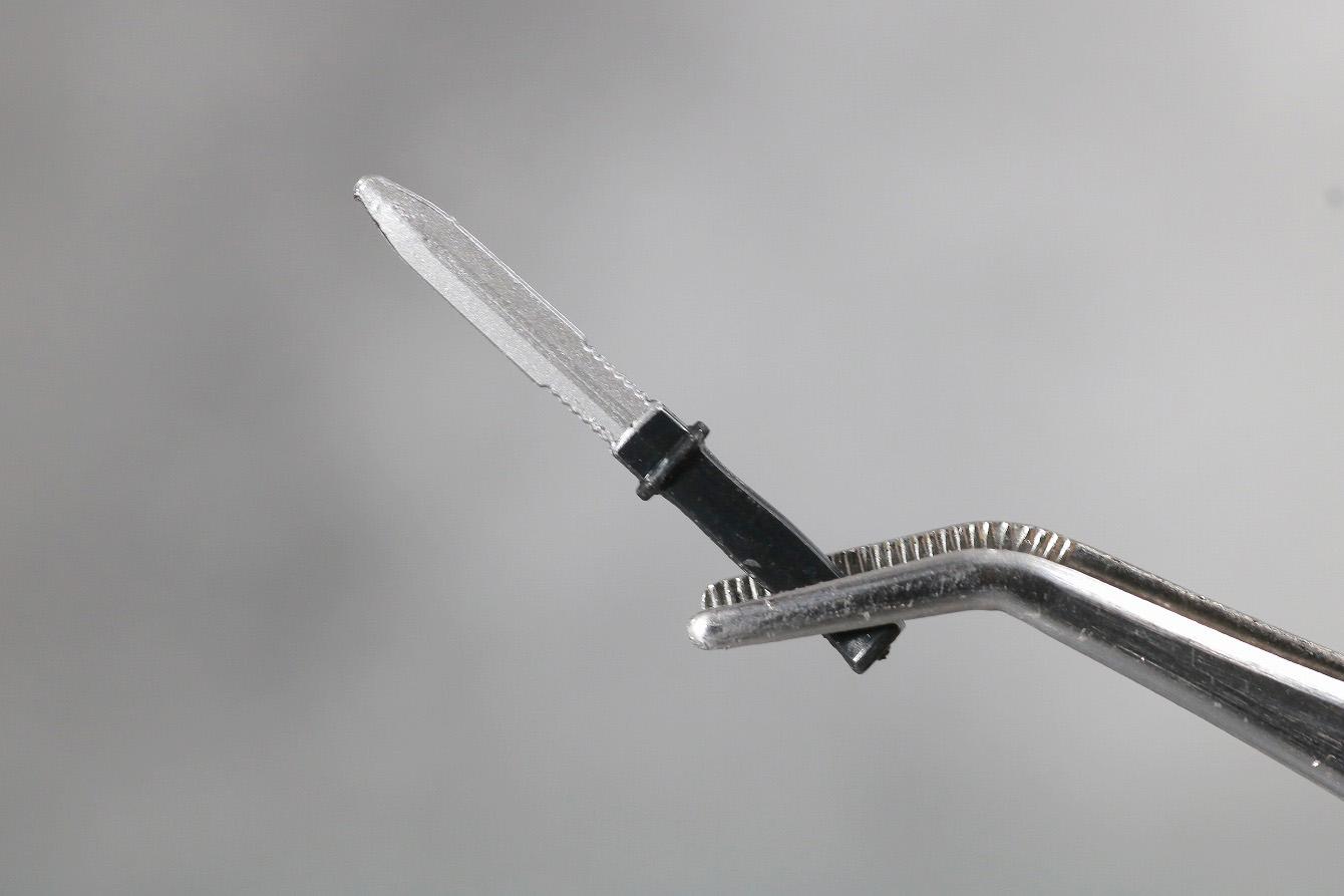 マーベルレジェンド デッドプール 実写版 レビュー 付属品 ナイフ