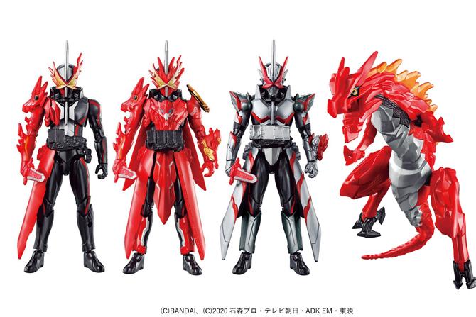 RKF新作!仮面ライダーセイバー ドラゴニックナイト&ワンダーコンボセットが12/12発売!ブレイブドラゴン付き!