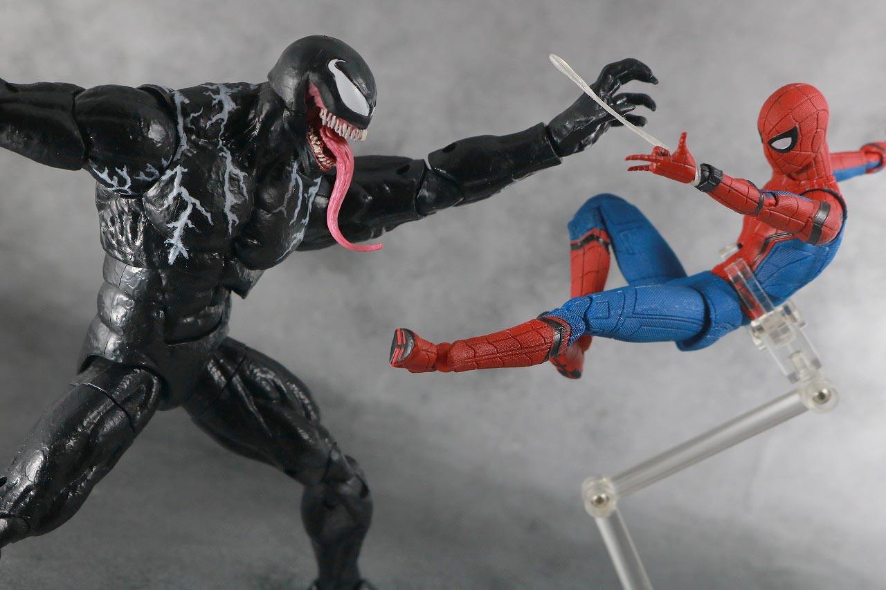 マーベルレジェンド ヴェノム 映画 レビュー アクション MAFEX スパイダーマン