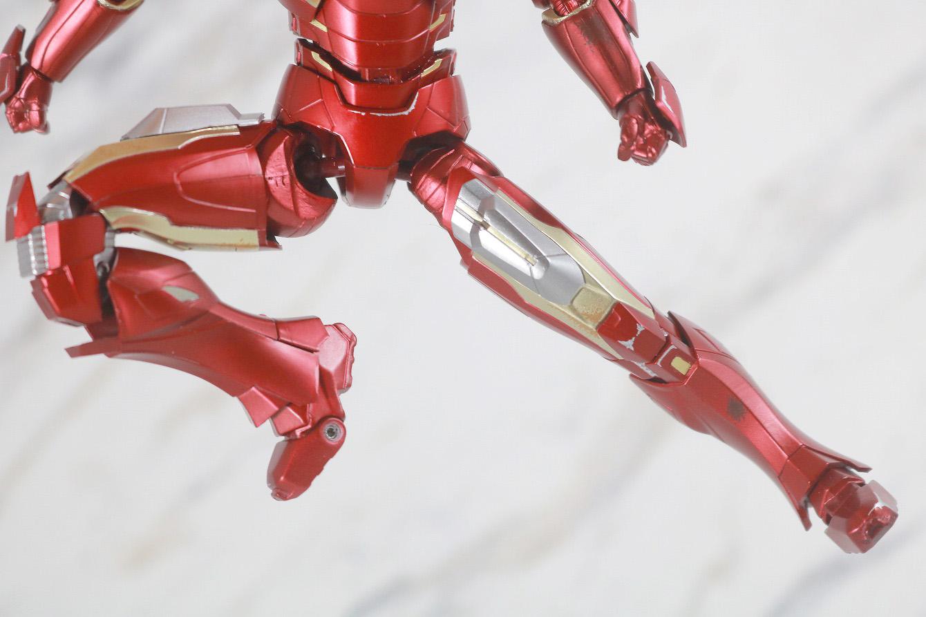 S.H.フィギュアーツ アイアンマン マーク7 AVENGERS ASSEMBLE EDITION レビュー 可動範囲