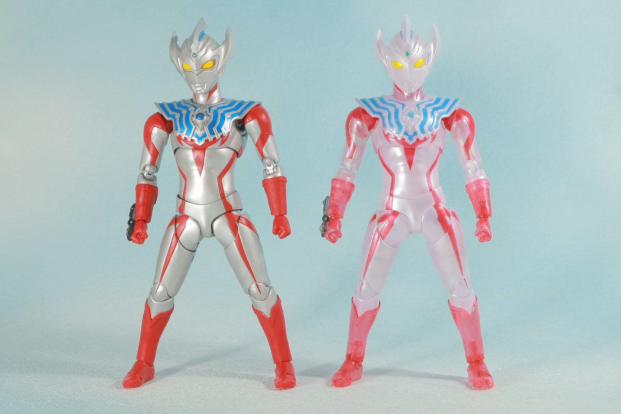 S.H.フィギュアーツ ウルトラマンタイガ Special Clear Color Ver. レビュー 本体 比較