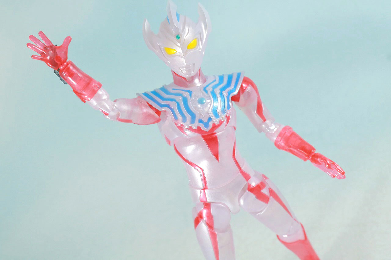 S.H.フィギュアーツ ウルトラマンタイガ Special Clear Color Ver. レビュー アクション