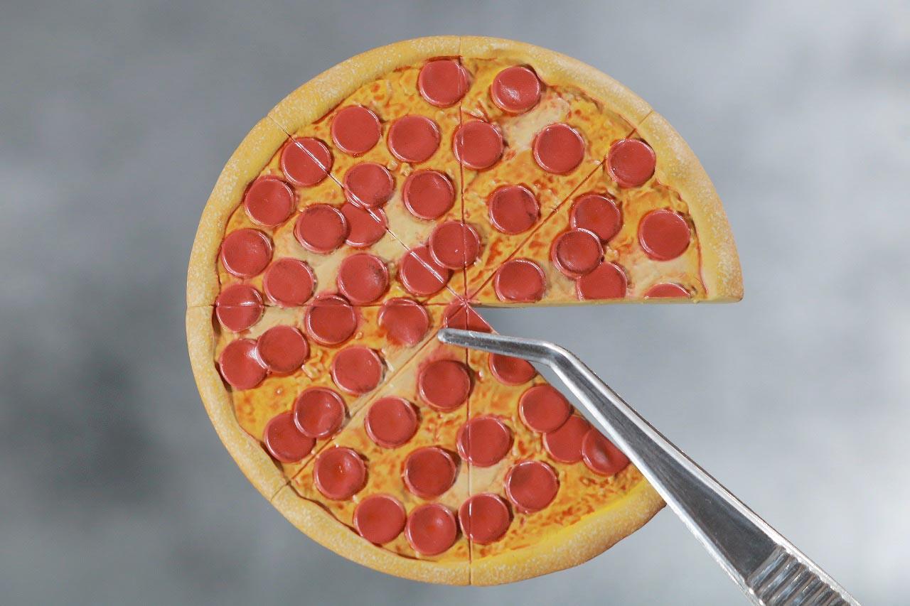 ホットトイズ スカーレット・スパイダー ビデオゲーム・マスターピース レビュー 付属品 ピザ