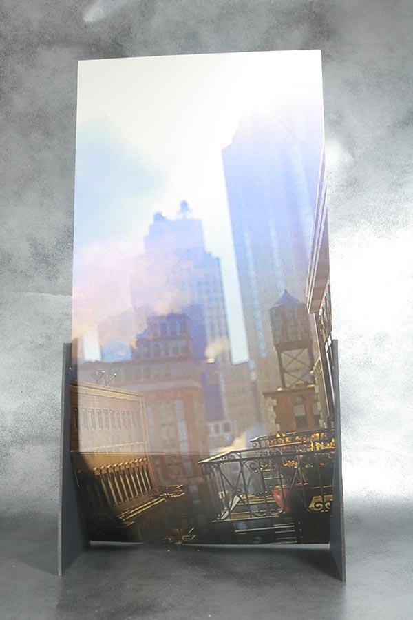 ホットトイズ スカーレット・スパイダー ビデオゲーム・マスターピース レビュー 付属品 背景ボード