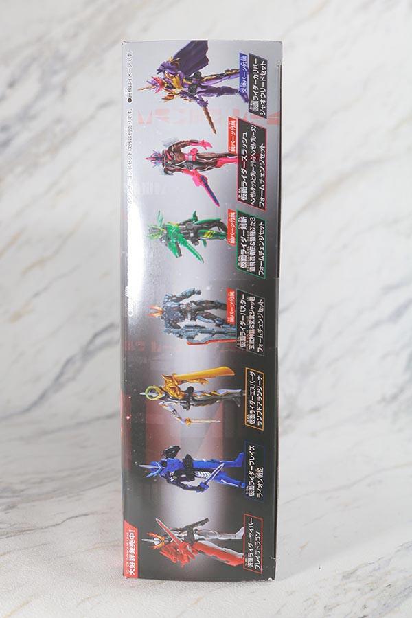RKF 仮面ライダーセイバー ドラゴニックナイト&ワンダーコンボセット レビュー パッケージ