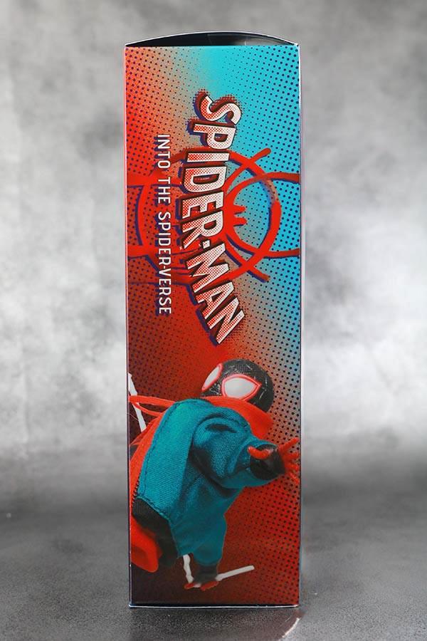 MAFEX スパイダーマン マイルス・モラレス スパイダーバース レビュー パッケージ