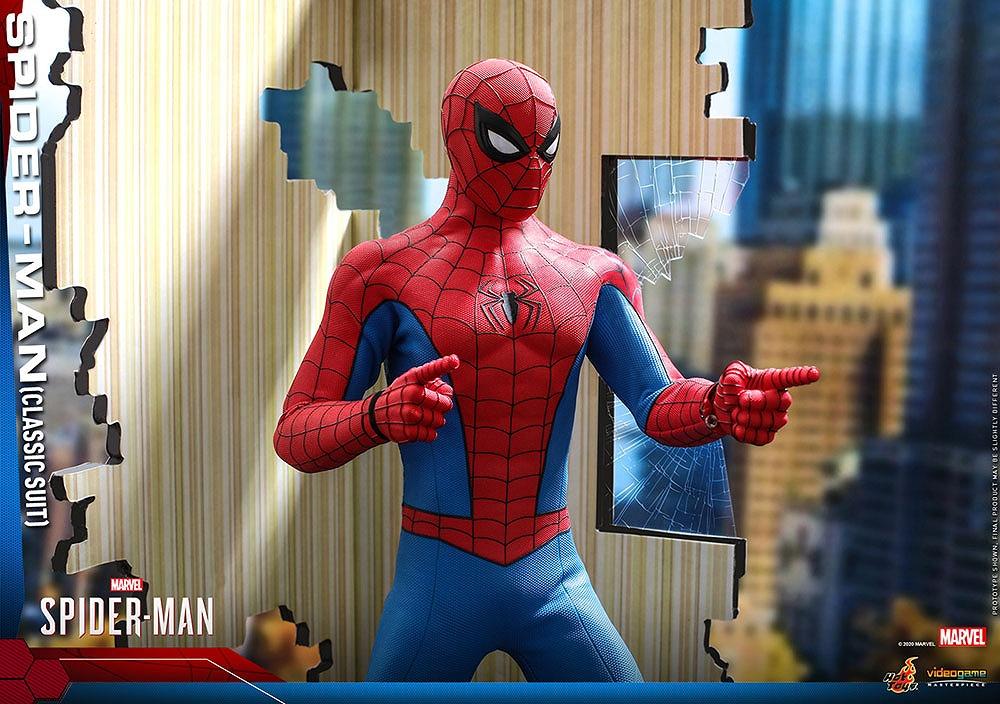 ビデオゲーム・マスターピース スパイダーマン(クラシック・スーツ版)