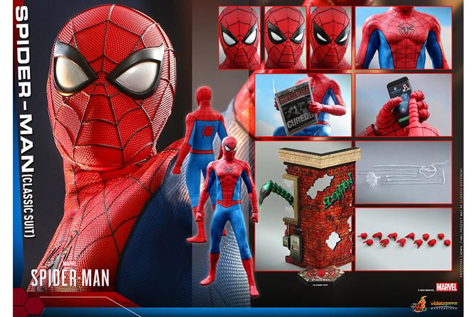 ホットトイズ新作!ビデオゲーム・マスターピース スパイダーマン(クラシック・スーツ版)が2022年6月に発売!