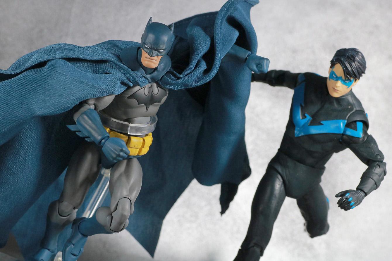MAFEX バットマン HUSH レビュー アクション DCマルチバース ナイトウィング