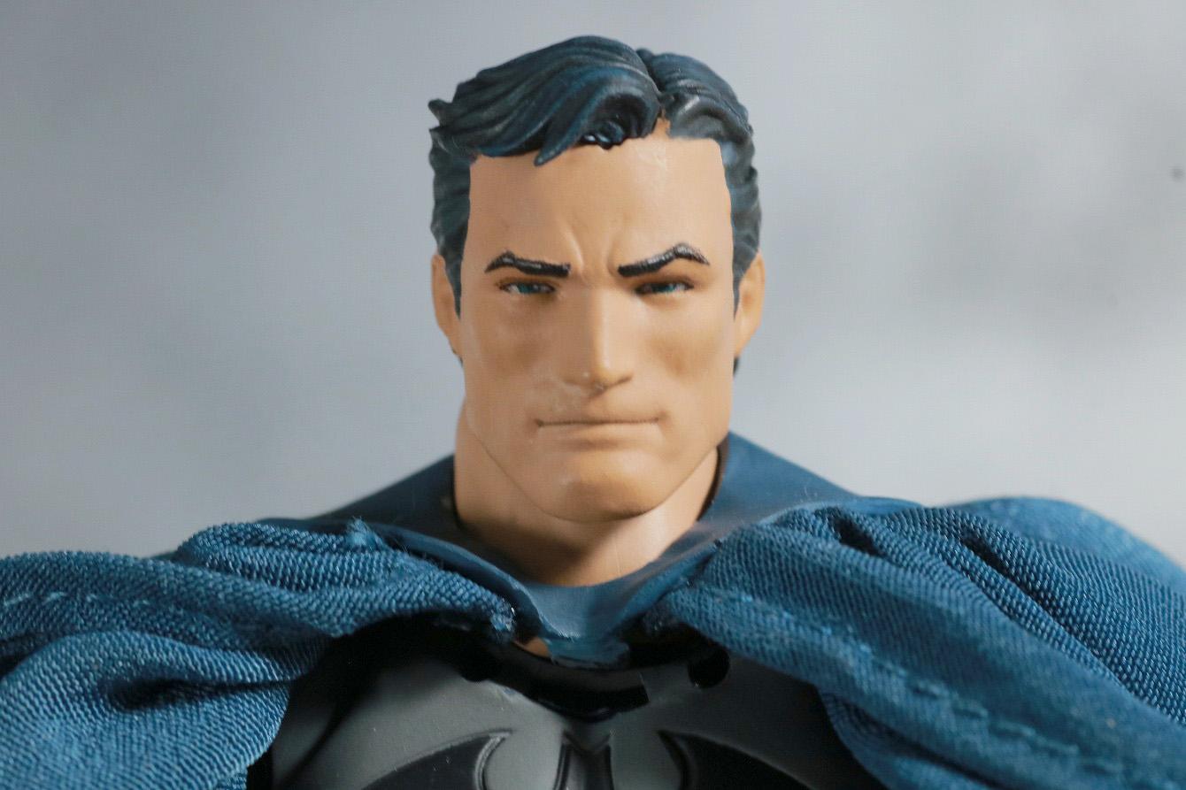 MAFEX バットマン HUSH レビュー 付属品 ブルース・ウェイン ヘッド