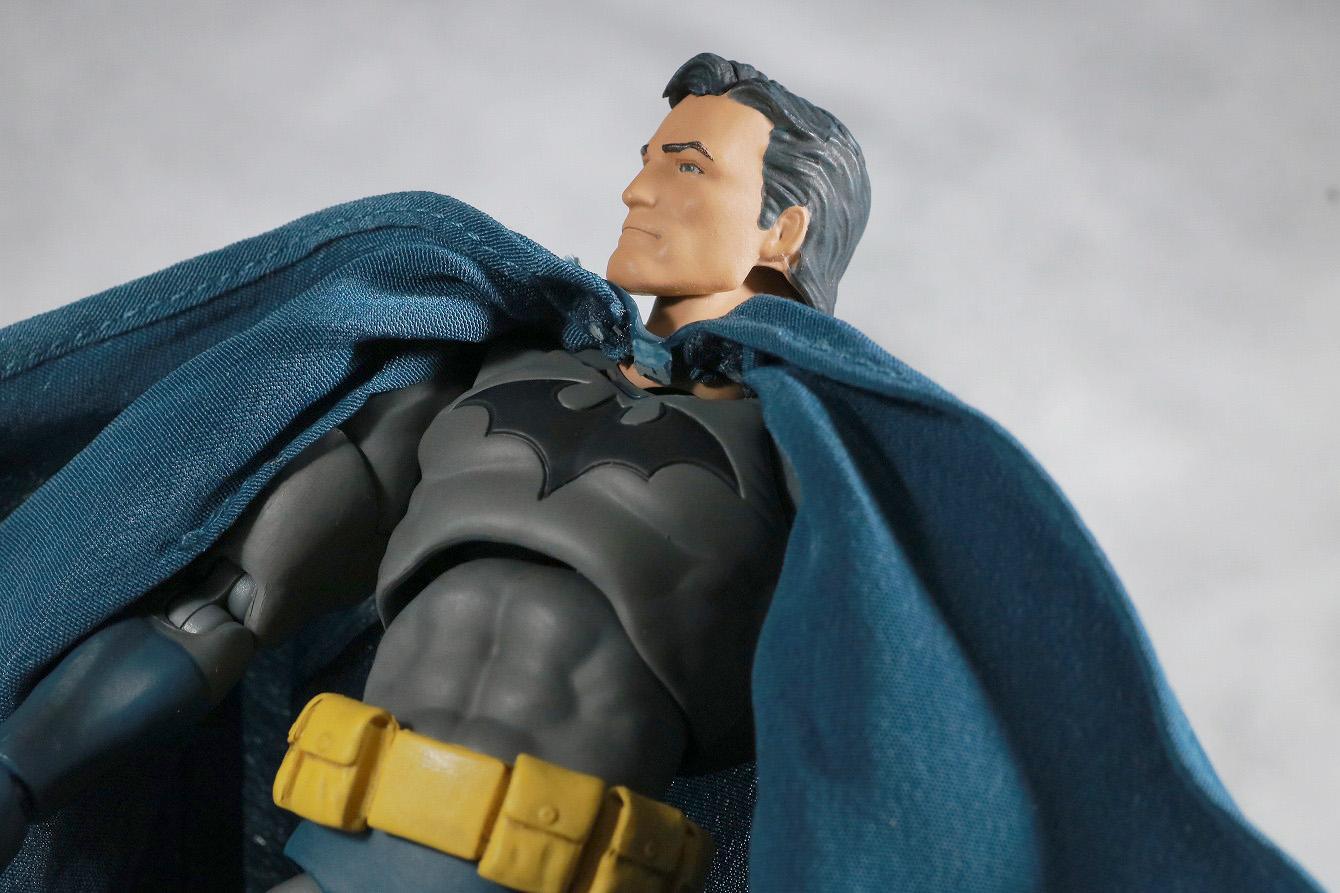 MAFEX バットマン HUSH レビュー アクション