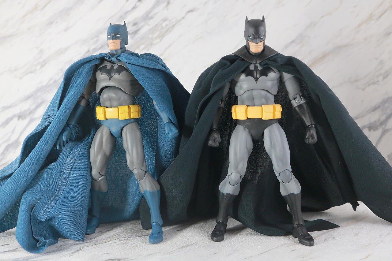 MAFEX バットマン HUSH BLACK ver. レビュー 本体 比較