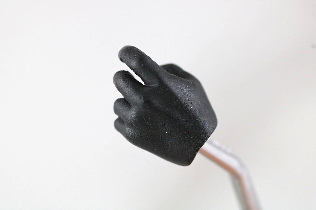 MAFEX バットマン HUSH BLACK ver. レビュー 付属品 手首