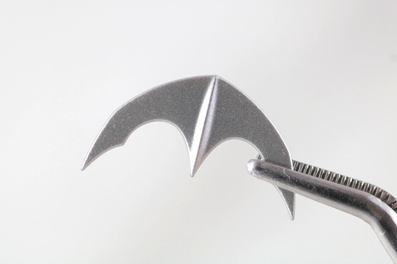MAFEX バットマン HUSH BLACK ver. レビュー 付属品 バットラング