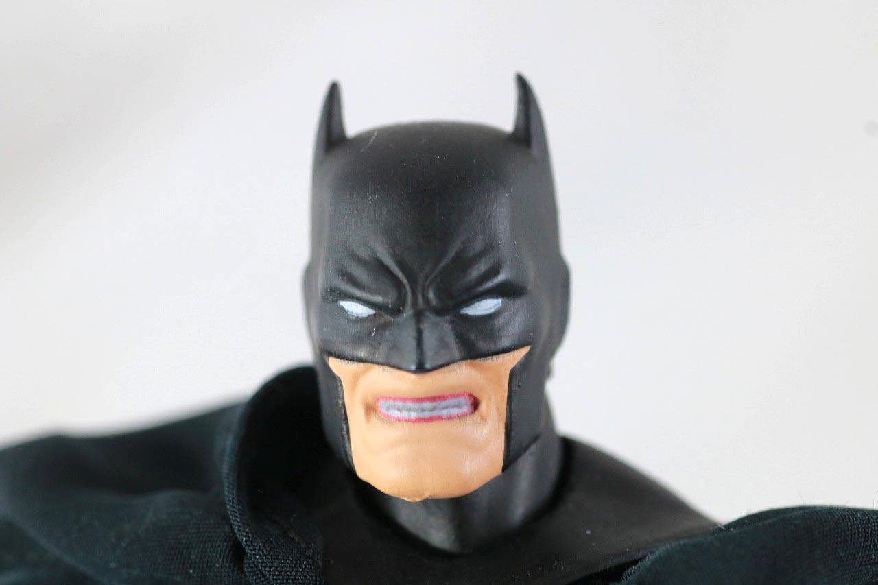 MAFEX バットマン HUSH BLACK ver. レビュー 付属品 食いしばり頭部