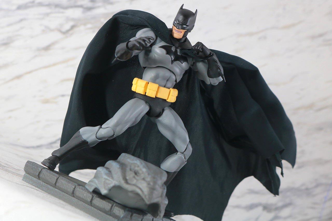 MAFEX バットマン HUSH BLACK ver. レビュー アクション