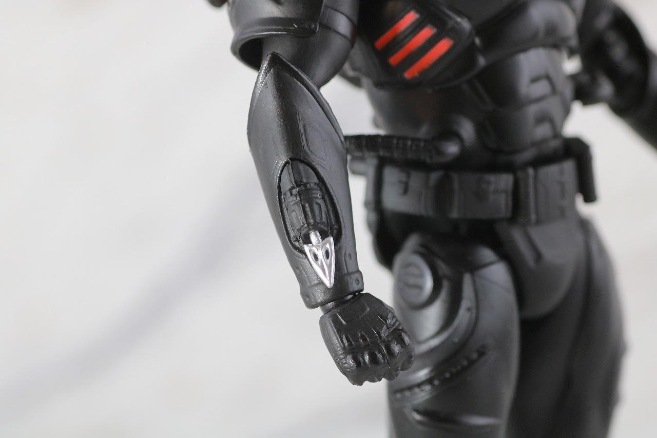 MAFEX ブラックマンタ レビュー 本体