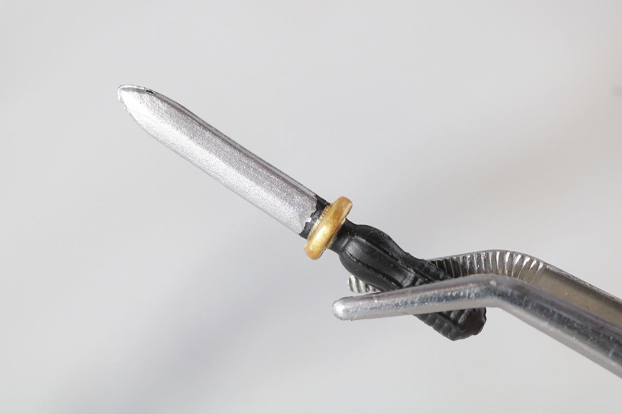 MAFEX ブラックマンタ レビュー 付属品 ナイフ