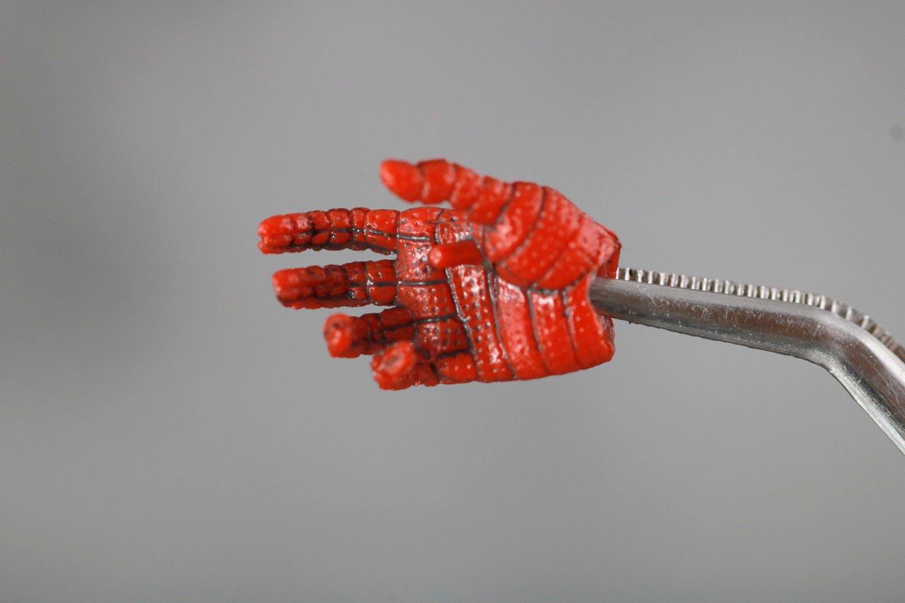 MAFEX スパイダーマン ピーター・B・パーカー レビュー 付属品 手首