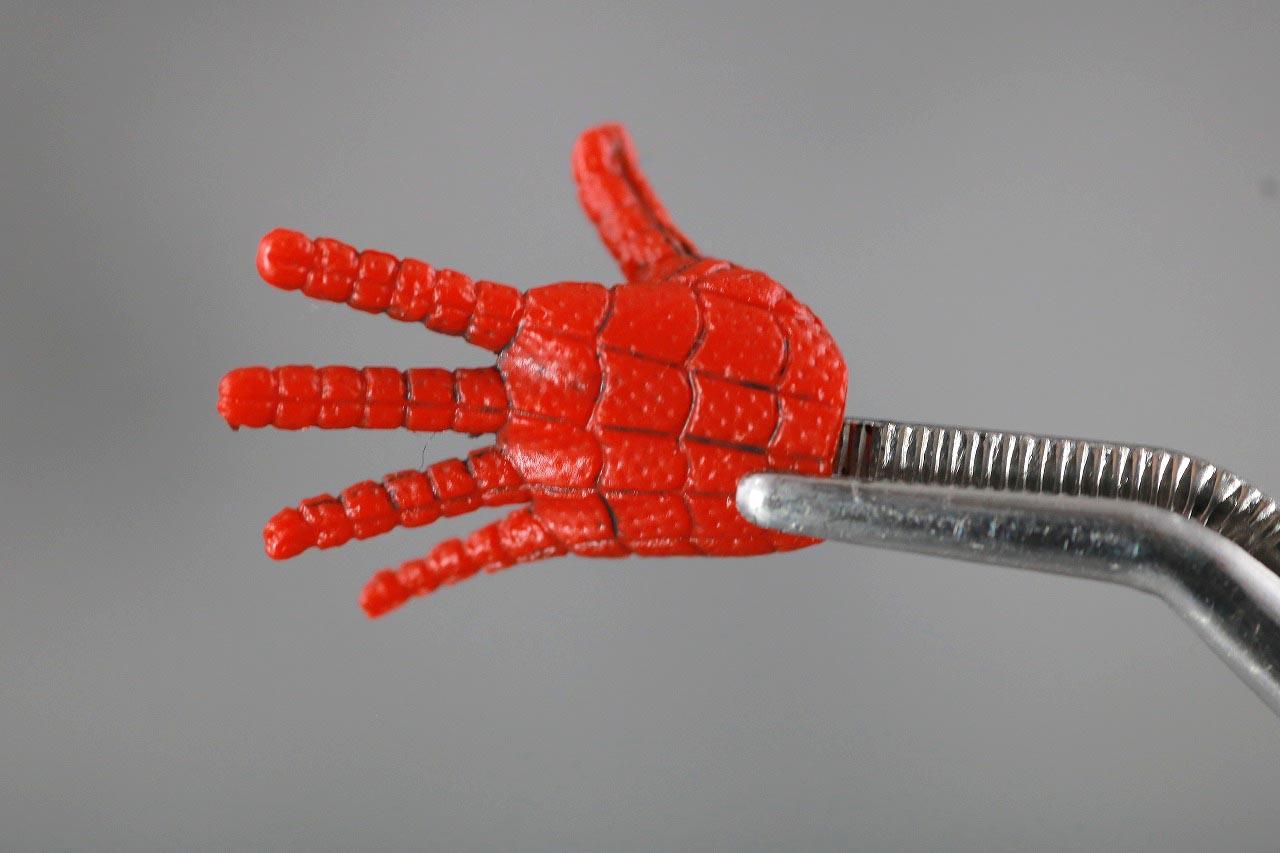 MAFEX スパイダーマン ピーター・B・パーカー レビュー 付属品