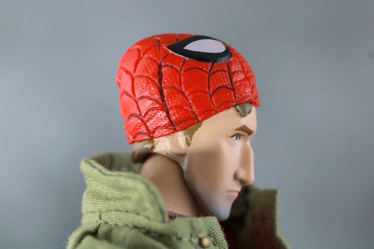 MAFEX スパイダーマン ピーター・B・パーカー レビュー 付属品 差し替えBパーカーヘッド
