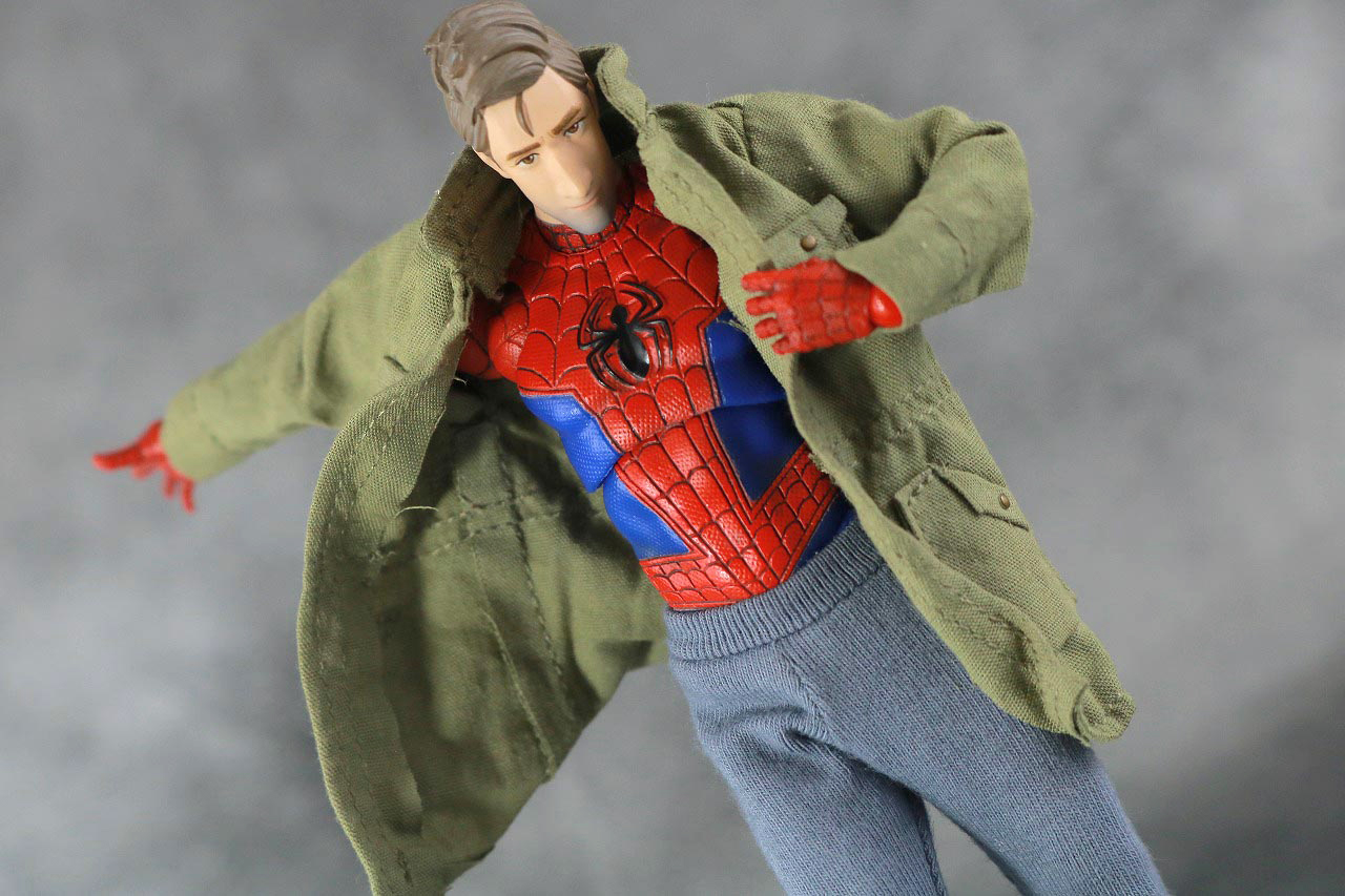 MAFEX スパイダーマン(ピーター・B・パーカー) レビュー