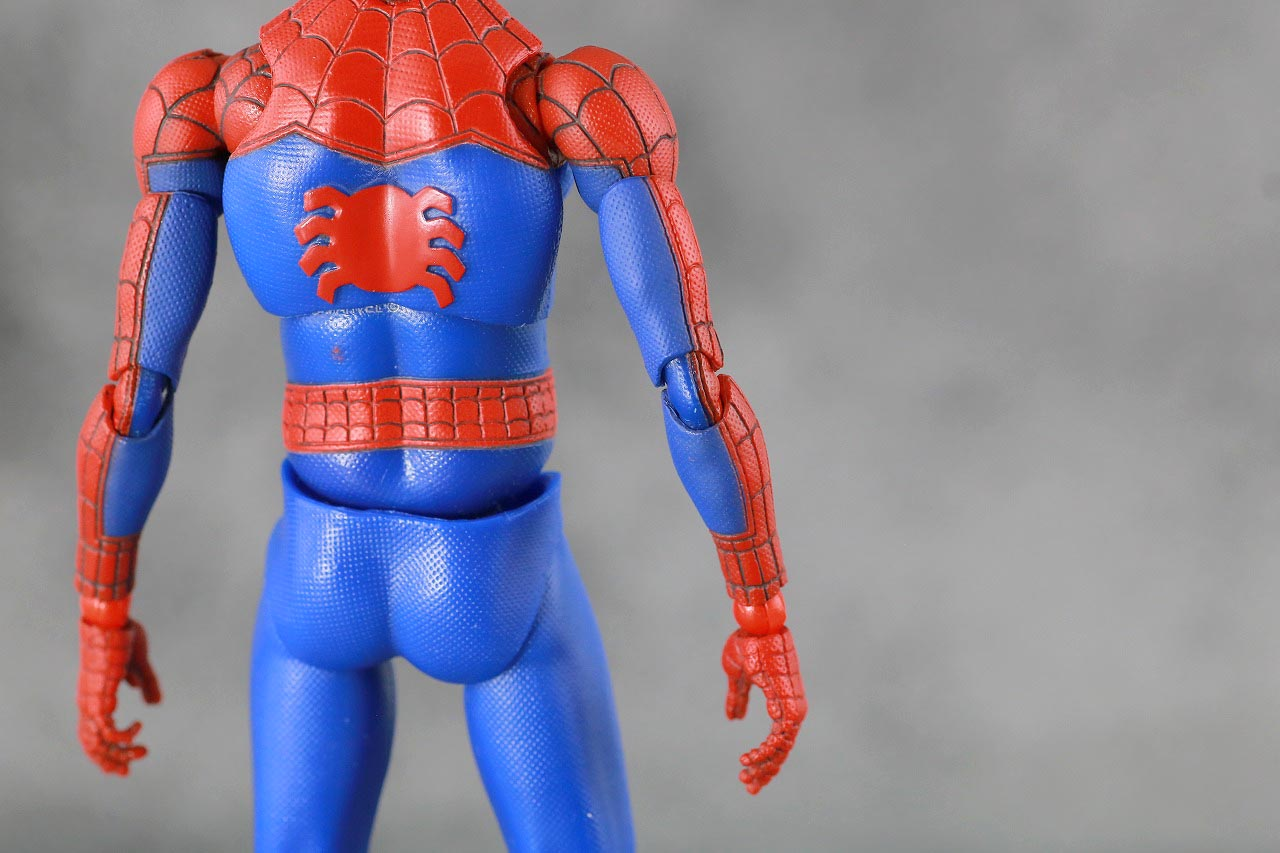 MAFEX スパイダーマン ピーター・B・パーカー レビュー 本体 スーツ