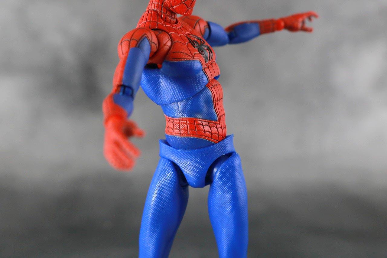 MAFEX スパイダーマン ピーター・B・パーカー レビュー 可動範囲