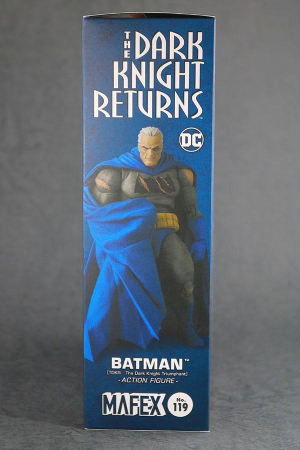 MAFEX バットマン TDKR:The Dark Knight Triumphant レビュー パッケージ