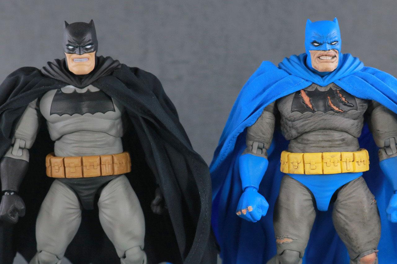 MAFEX バットマン TDKR:The Dark Knight Triumphant レビュー 本体 比較