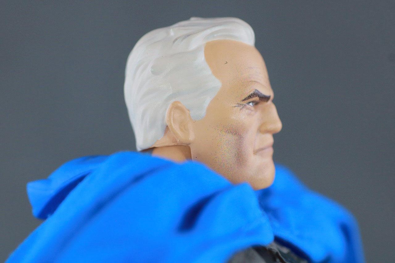 MAFEX バットマン TDKR:The Dark Knight Triumphant レビュー 付属品 ブルース・ウェイン ヘッドパーツ