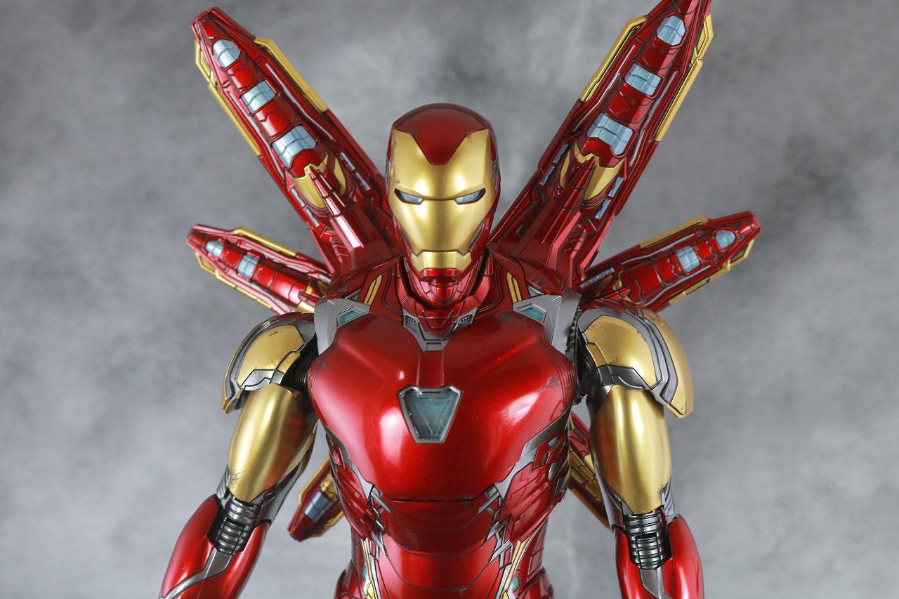 ホットトイズ ムービー・マスターピース アイアンマン マーク85 レビュー 付属品 ナノライトニングリフォーカサー