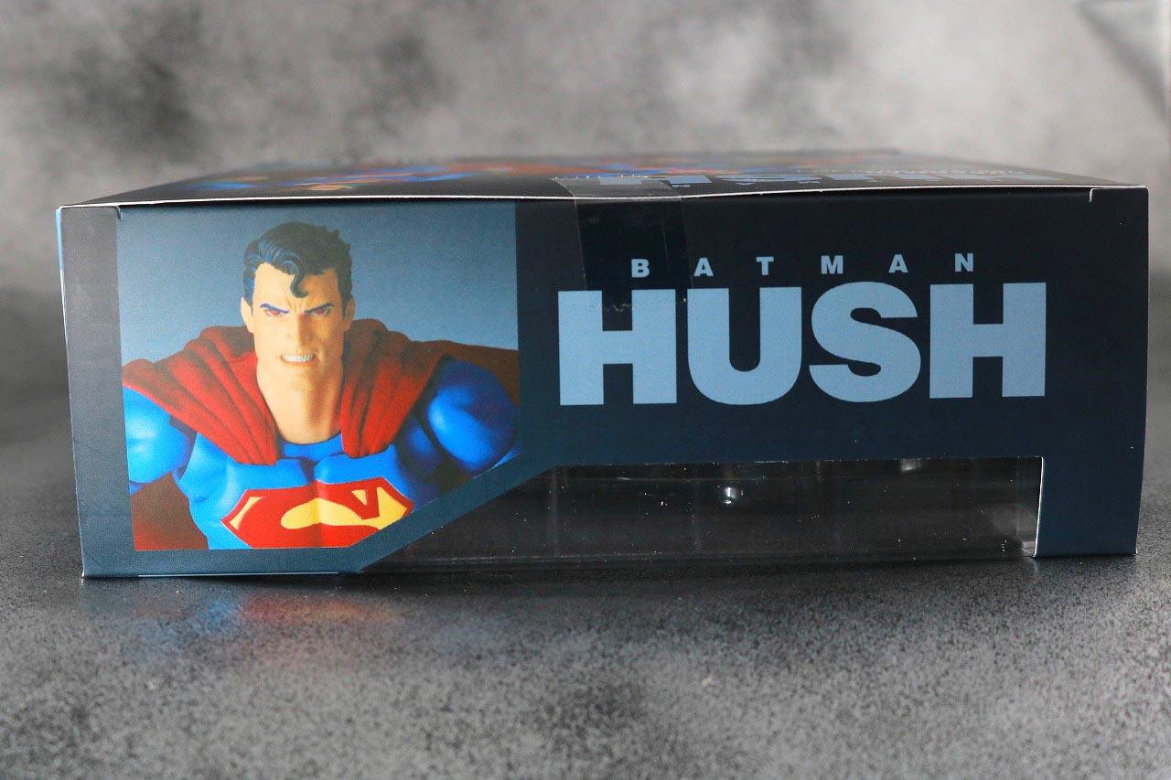 MAFEX スーパーマン Batman:HUSH Ver. レビュー パッケージ