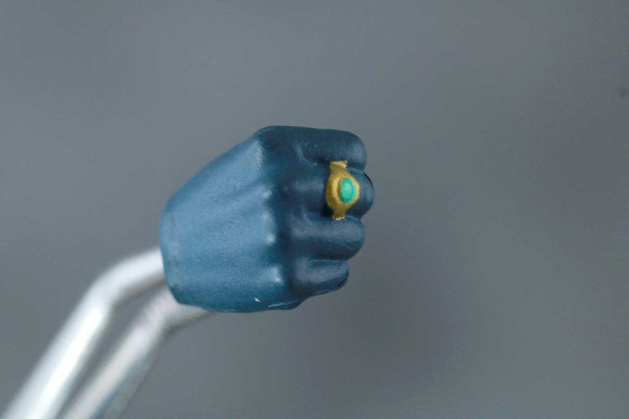MAFEX スーパーマン Batman:HUSH Ver. レビュー 付属品 クリプトナイト 指輪 バットマン 手首パーツ