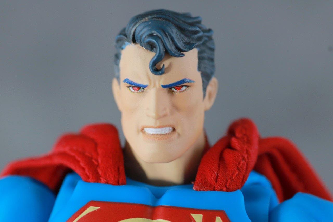 MAFEX スーパーマン Batman:HUSH Ver. レビュー 付属品 差し替えヘッド