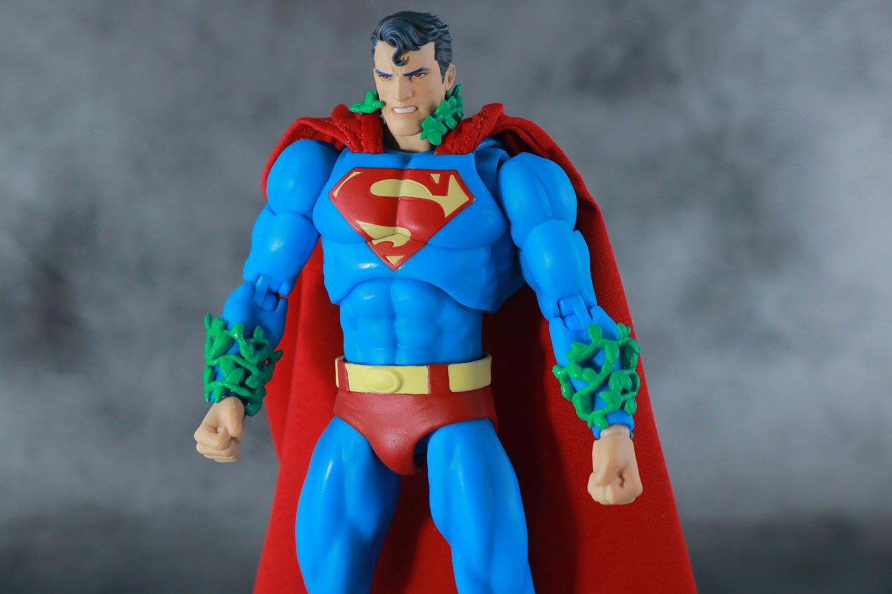 MAFEX スーパーマン Batman:HUSH Ver. レビュー 付属品 ポイズンアイビー