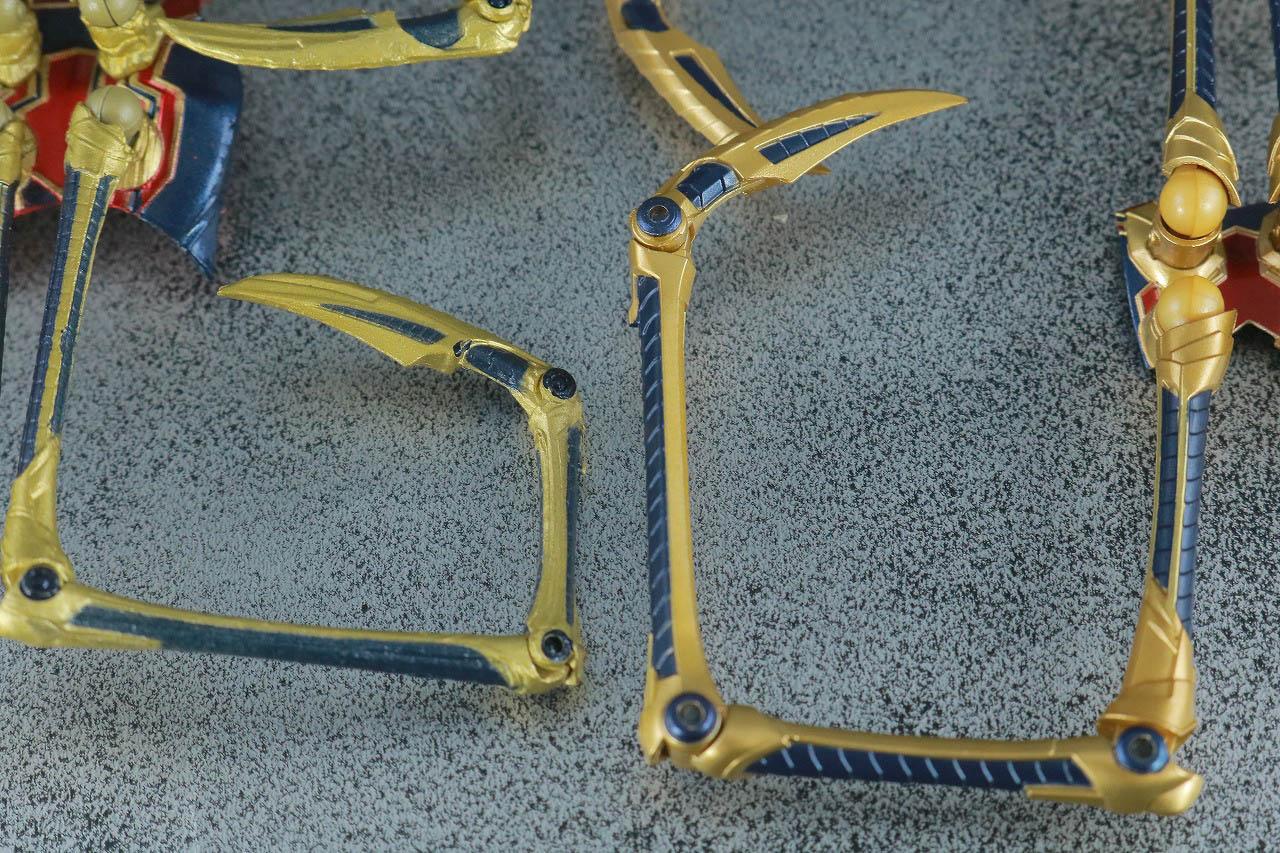 MAFEX アイアン・スパイダー アベンジャーズ/エンドゲーム レビュー 付属品 ピンサー S.H.フィギュアーツ 比較