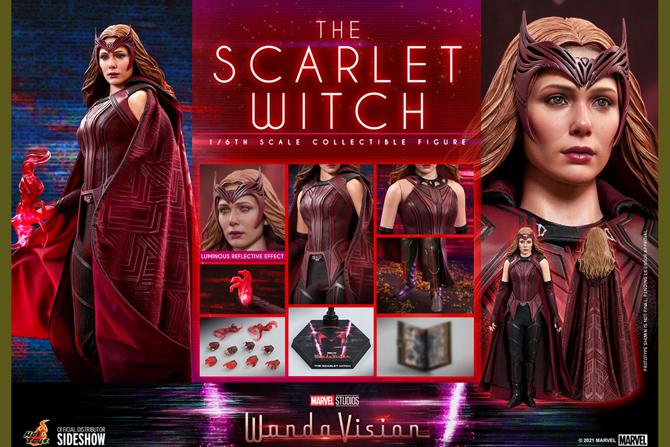 【予約開始】ホットトイズ新作!『ワンダヴィジョン』よりスカーレット・ウィッチが2022年に発売決定!新スーツのワンダが立体化!