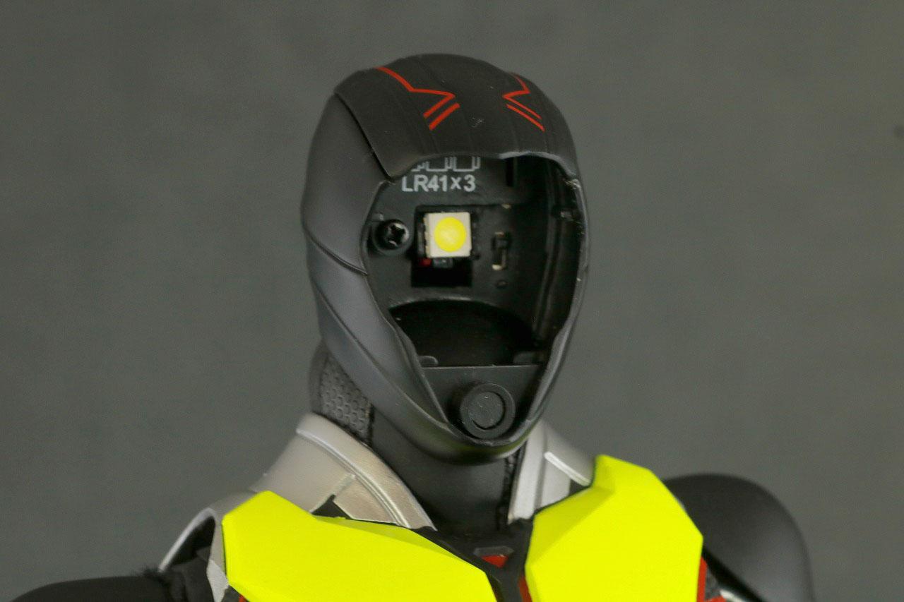 RAH 仮面ライダーゼロワン ライジングホッパー レビュー ライトアップギミック