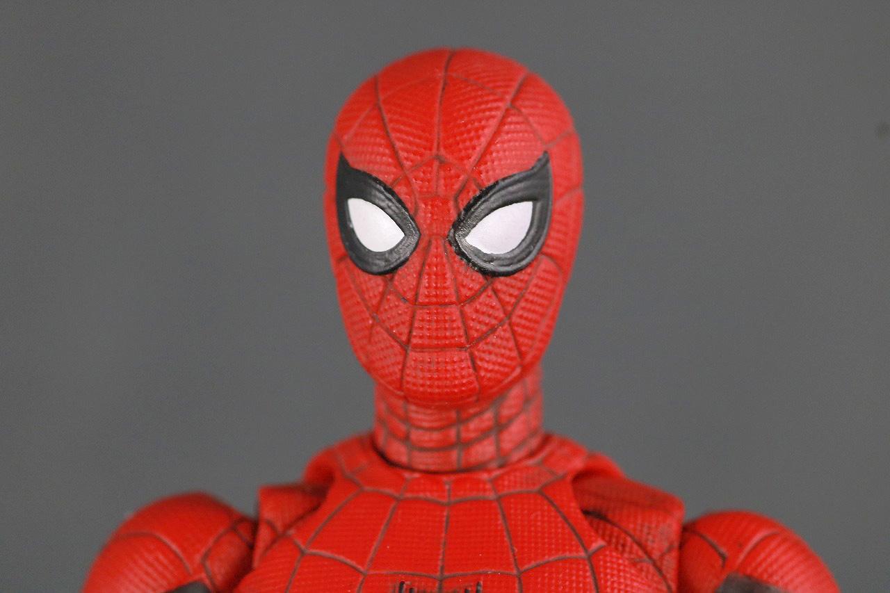 MAFEX マフェックス スパイダーマン アップグレードスーツ レビュー 本体
