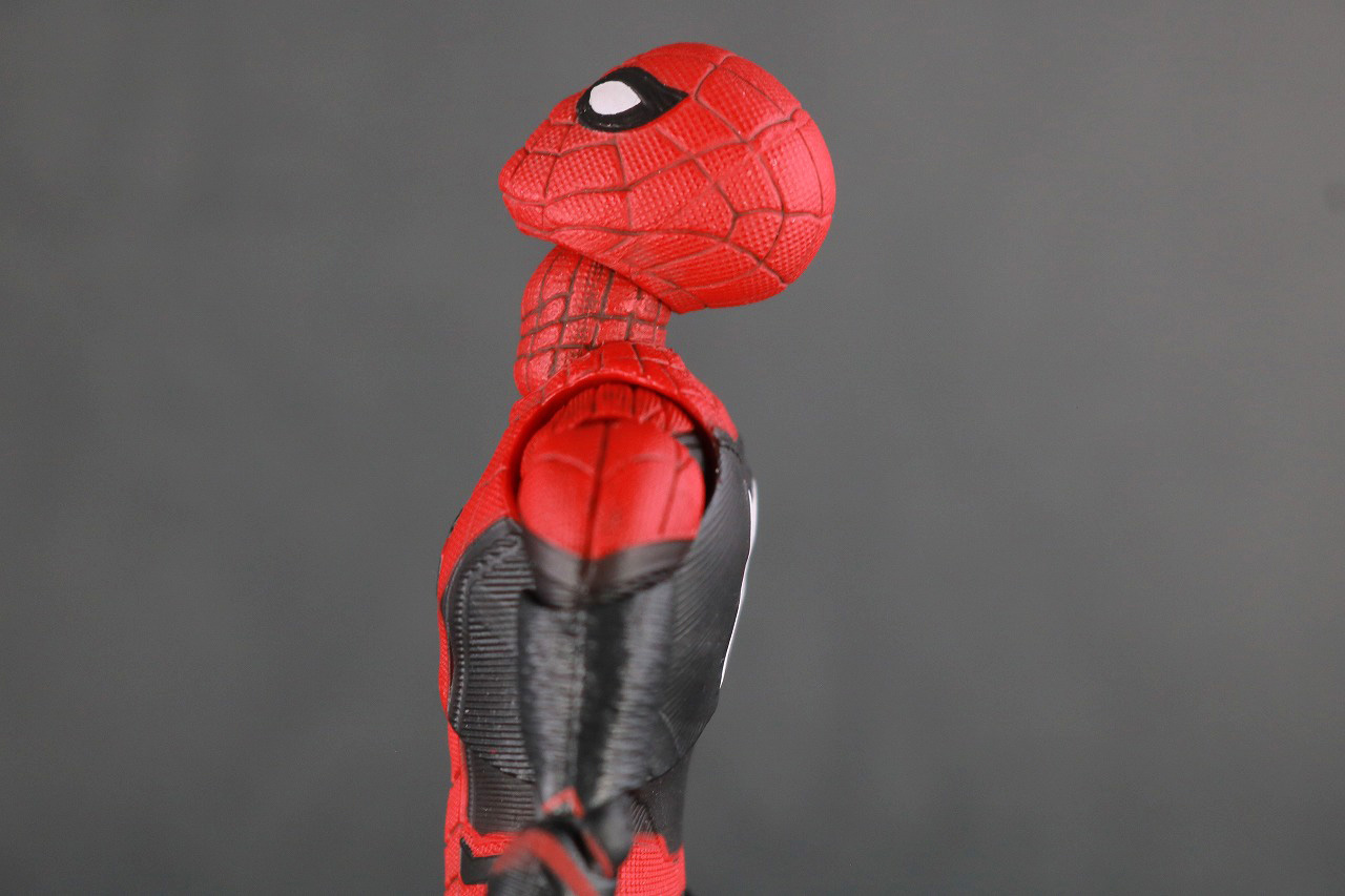 MAFEX マフェックス スパイダーマン アップグレードスーツ レビュー 可動範囲