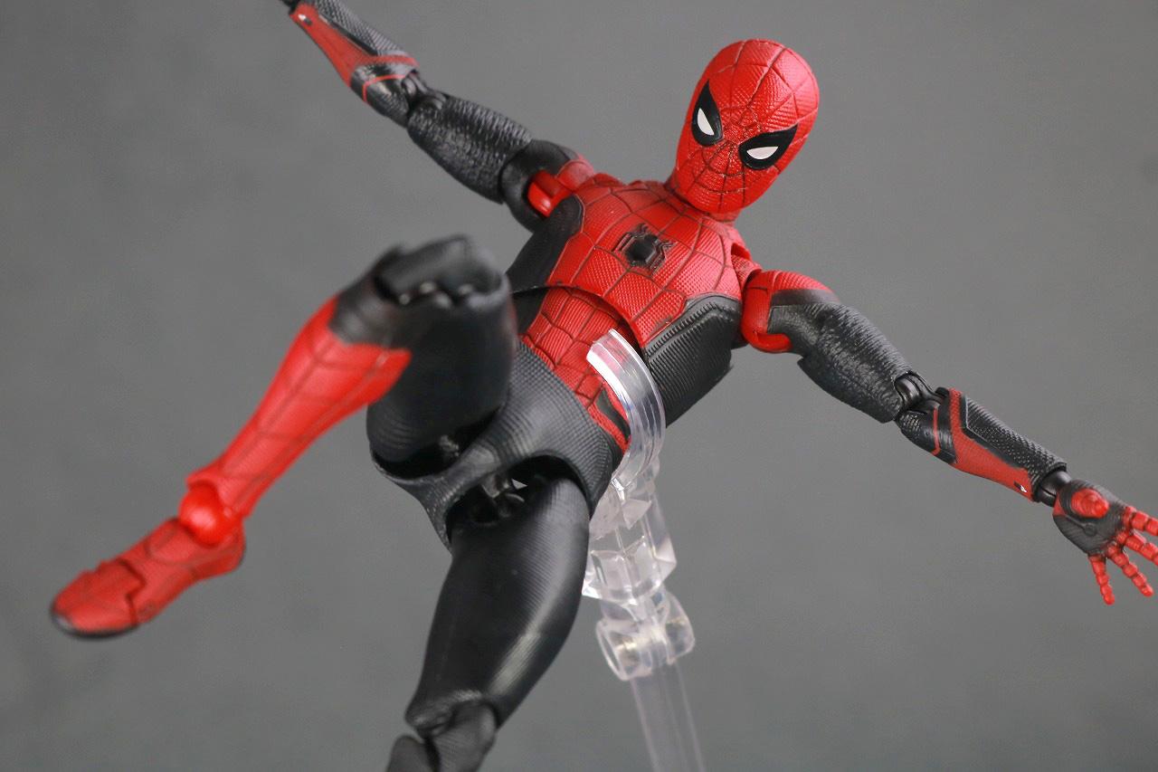 MAFEX マフェックス スパイダーマン アップグレードスーツ レビュー アクション