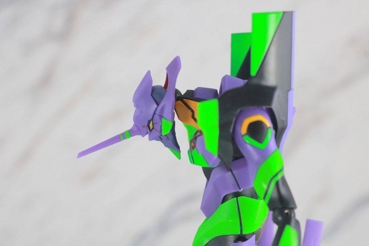 ROBOT魂 エヴァンゲリオン 初号機 新劇場版 レビュー 可動範囲