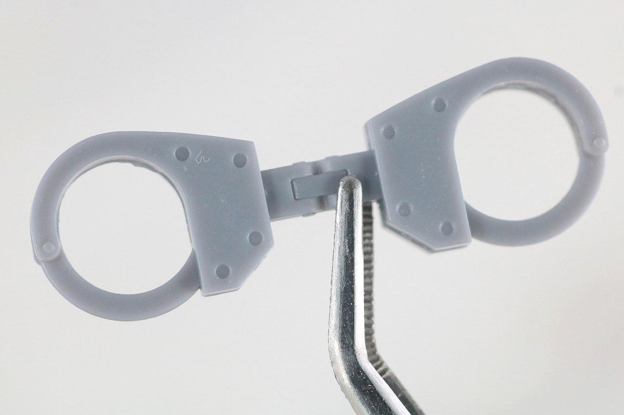 ROBOT魂 エヴァンゲリオン 零号機/零号機(改) 新劇場版 レビュー 付属品 換装パーツ 手錠